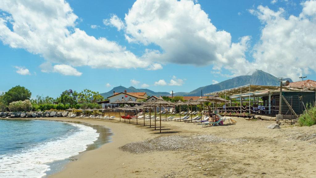La spiaggia del Kriò Gelsomare
